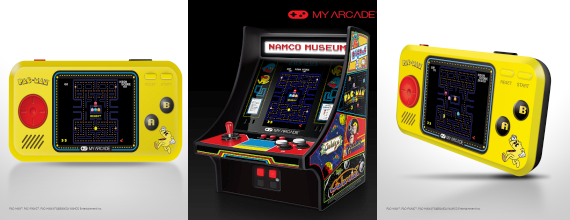 E3 News: My Arcade To Launch Two Classic BANDAI NAMCO Mini Players