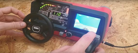 Tomy Turnin' Turbo Dashboard OutRun Arcade