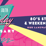 80's Street Party To Celebrate Barkly Square's 35th Anniversary