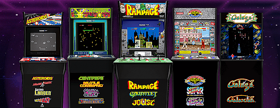 Arcade1Up: Classic ¾-Sized Arcade Games For Your Home