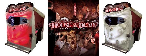 SEGA's House of the Dead Scarlet Dawn