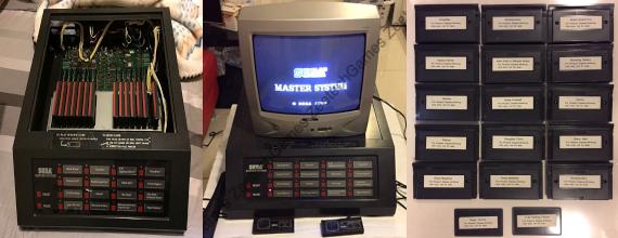 Retro Gaming Rarity: SEGA Master System Store Demo Unit