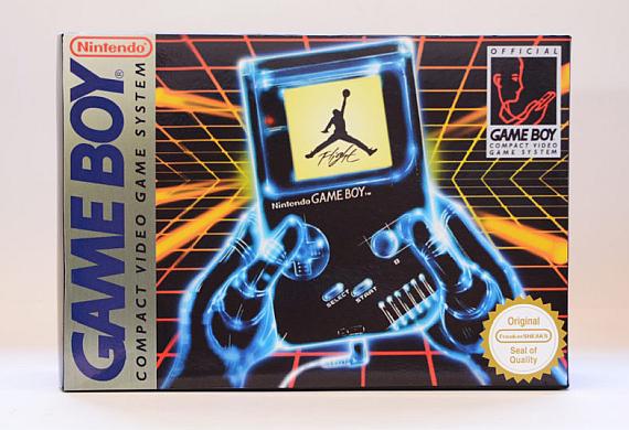 buy popular 0b952 fad17 Jordan IV GAME BOY Super Mario Land Edition | AUSRETROGAMER