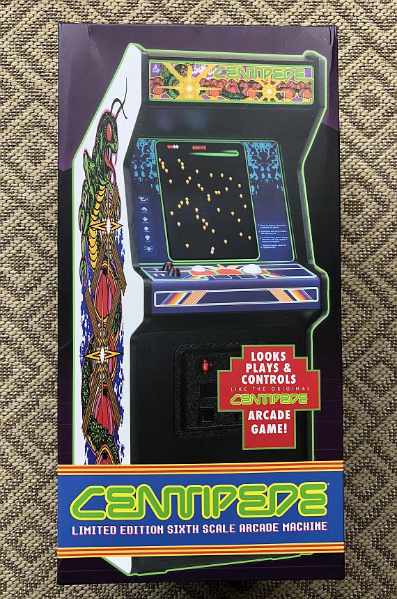 The Replicade Mini Centipede Arcade Machine Ausretrogamer