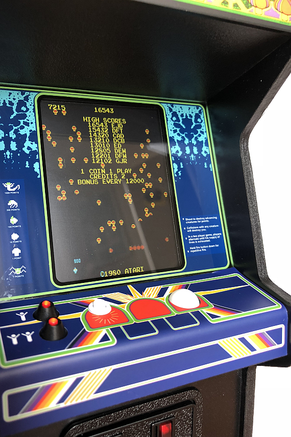 The RepliCade Mini Centipede Arcade Machine | AUSRETROGAMER