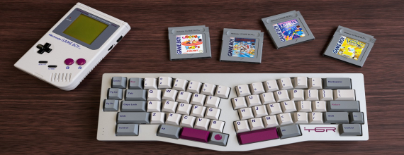 Get Your Keyboard To Match Your Original Game Boy