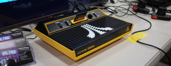 An Atari 2600 Transforms Into The Lynx 2600