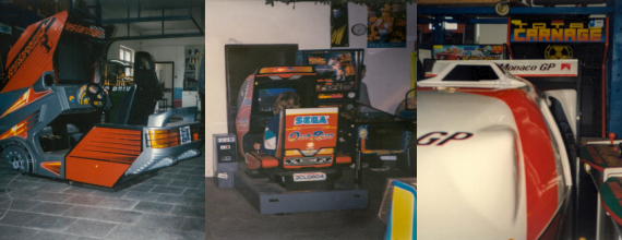 Polish Arcade Parlours and Games from the mid 1990s