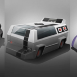 Classic Gaming Consoles Redesigned as Cars