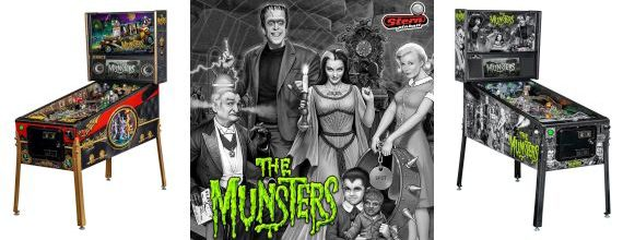 The Munsters Pinball Unveiled at CES 2019 in Vegas, Baby!