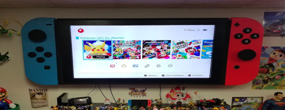 The 65-inch Nintendo Switch TV