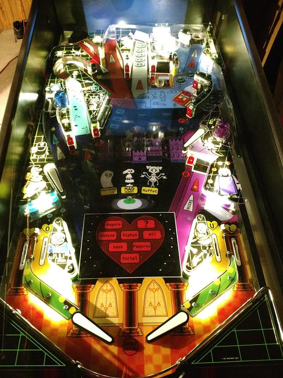 Underpin: A Physical Undertale Pinball Machine! | AUSRETROGAMER