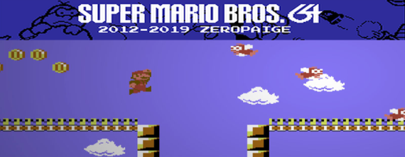 Super Mario Bros  64 Unleashed On the C64 | AUSRETROGAMER