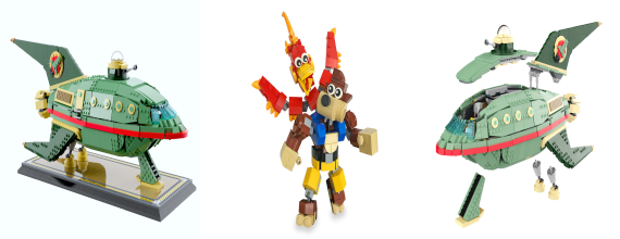 LEGO Ideas: Banjo-Kazooie and the Planet Express Ship