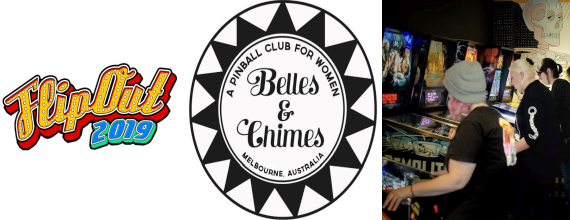 Calling All Women and Non-Binary Pinball Lovers: Melbourne Silverbelles & Chimes Tournament at Flipout 2019