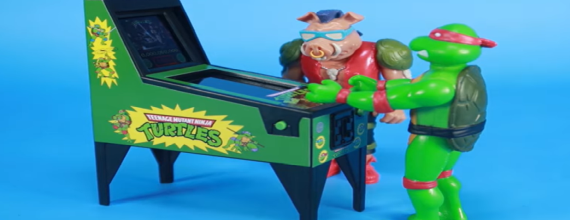 Teenage Mutant Ninja Turtles Tiny Electronic Pinball