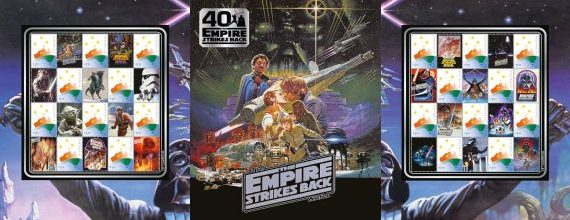 Star Wars Episode V – The Empire Strikes Back: 40 Year Anniversary Stamp Pack