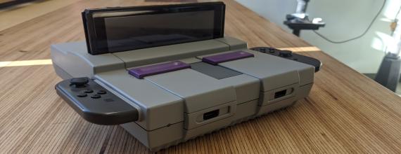 Retrofy Your Nintendo Switch Dock