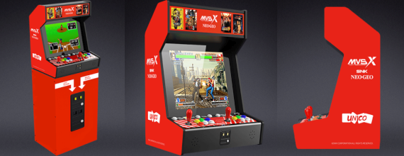 Introducing The SNK NeoGeo MVSX Home Arcade