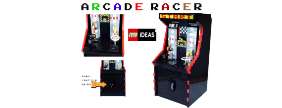 LEGO Ideas – Classic Two Player Arcade Racer